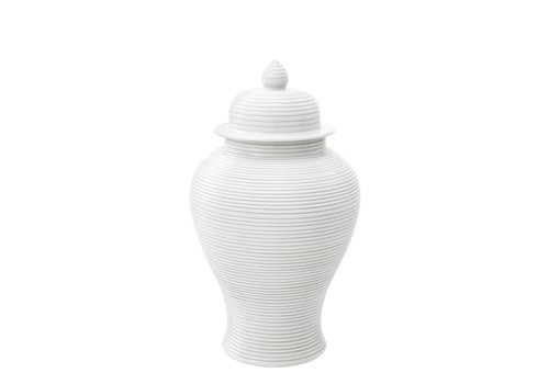 EICHHOLTZ Weiße Vase 'Celestine' S