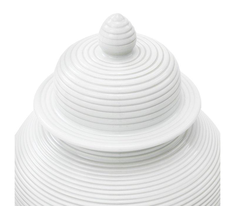 White Vase 'Celestine' S 45cm