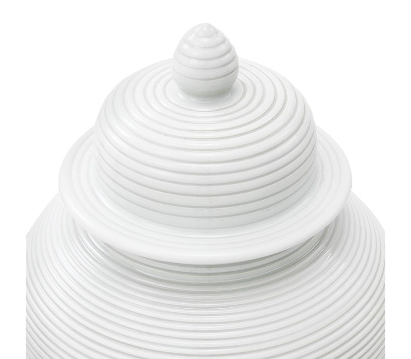 Witte vaas 'Celestine' S 45cm