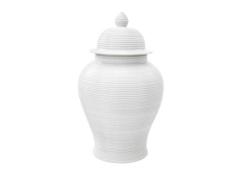 EICHHOLTZ White Vase 'Celestine' L