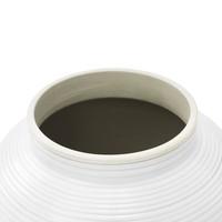 Weiße Vase 'Celestine' L 65 cm