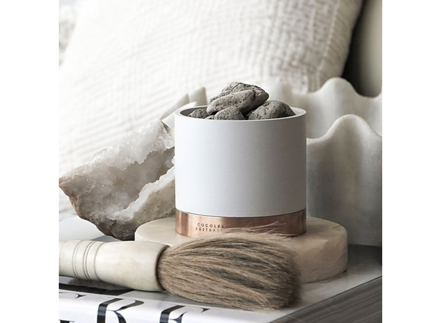 Diffuser Sol 'Leather, Tuberose & Driftwood'