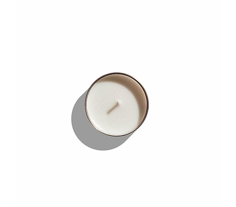 Scented candle Sol 'Leather, Tuberose & Driftwood' - S