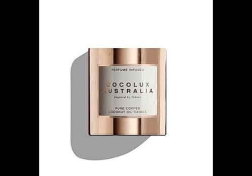 Cocolux Australia Duftkerze Sol 'Leather, Tuberose & Driftwood' - S