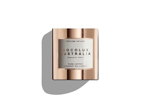 Cocolux Australia Geurkaars Sol 'Leather, Tuberose & Driftwood' - S