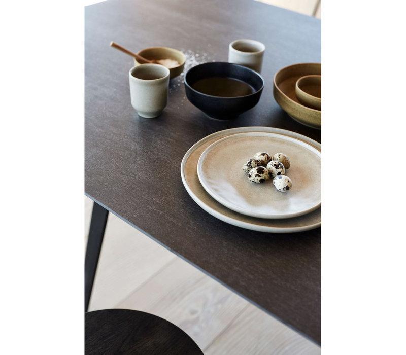 Mok 'Ceto' - set van 2 - in de kleur Soft Grey