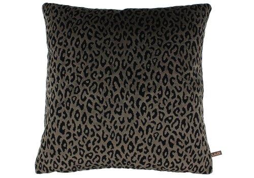 CLAUDI Cushion Olla Dark Taupe