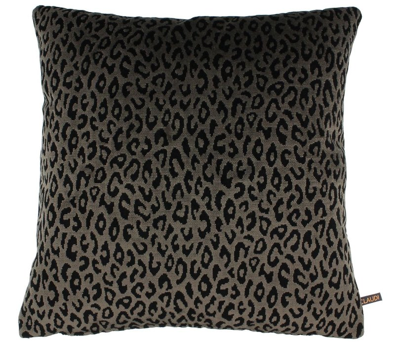 Cushion Olla in color Dark Taupe