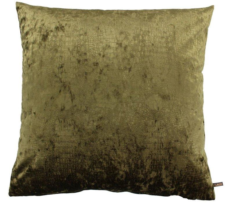 Cushion Cronna Dark Olive