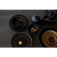 Frühstücksschale 'Ceto' - 2er-Set - in der Farbe Schwarz