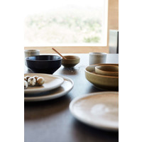 Frühstücksteller 'Ceto' - 2er-Set - in der Farbe Soft Grey
