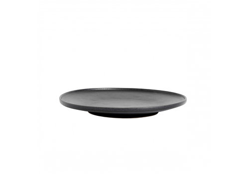MUUBS Breakfast plate 'Ceto' Black - set of 2