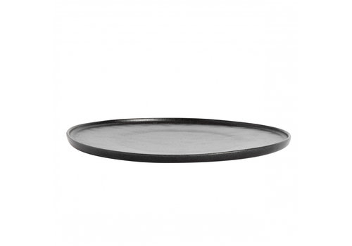 MUUBS Dinner plate 'Ceto' Black - set of 2