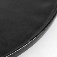 Dinner plate 'Ceto' - set of 2 - in the color Black