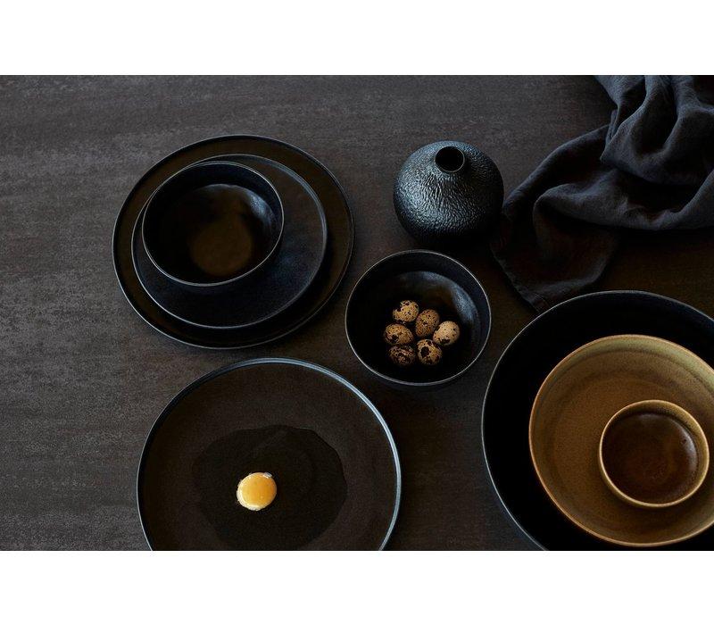 Salatschüssel 'Ceto' in der Farbe Schwarz
