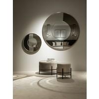 Der runde Spiegel 'Gold & Bronze' hat einen Durchmesser von 120cm