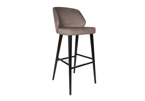 Dome Deco Bar stool 'Verge' Mousse