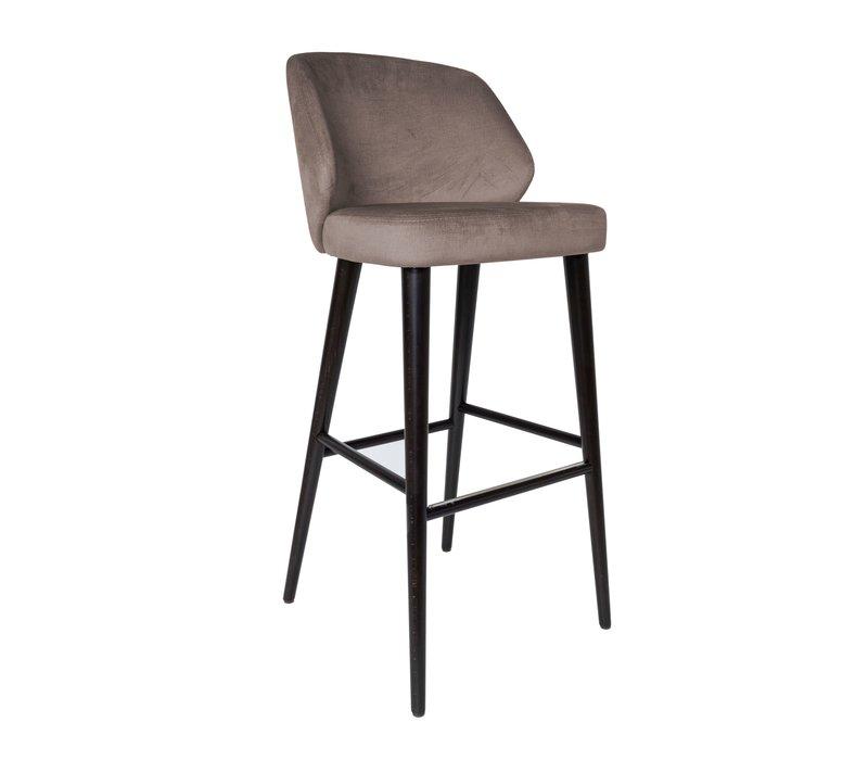 Bar stool 'Verge' Mousse