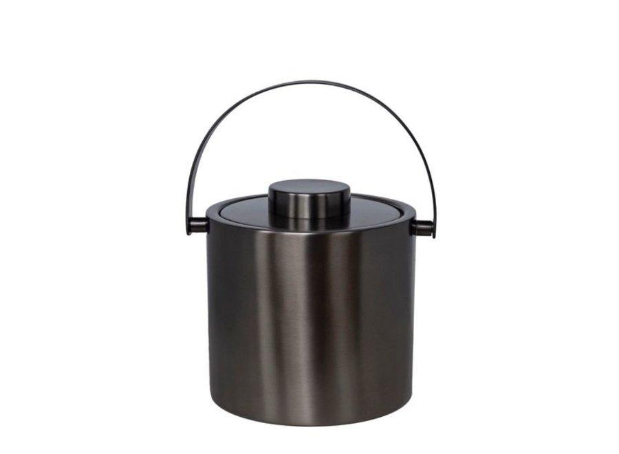 Ice bucket 'Anthracite'