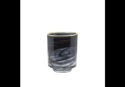 Dome Deco Glas Teelicht 'Alabaster' - S.