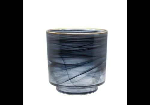 Dome Deco Glas Teelicht 'Alabaster' - M.