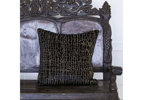 Leïlah Cushion Kanu Black