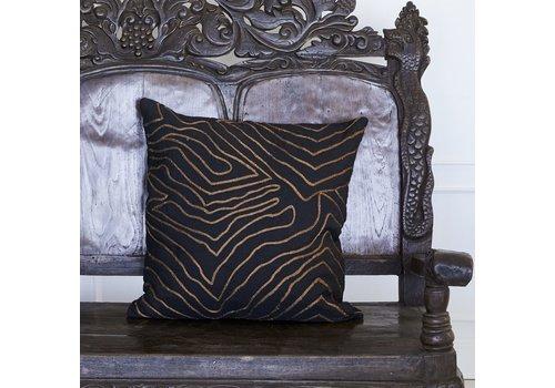 Leïlah Cushion Ulu Black