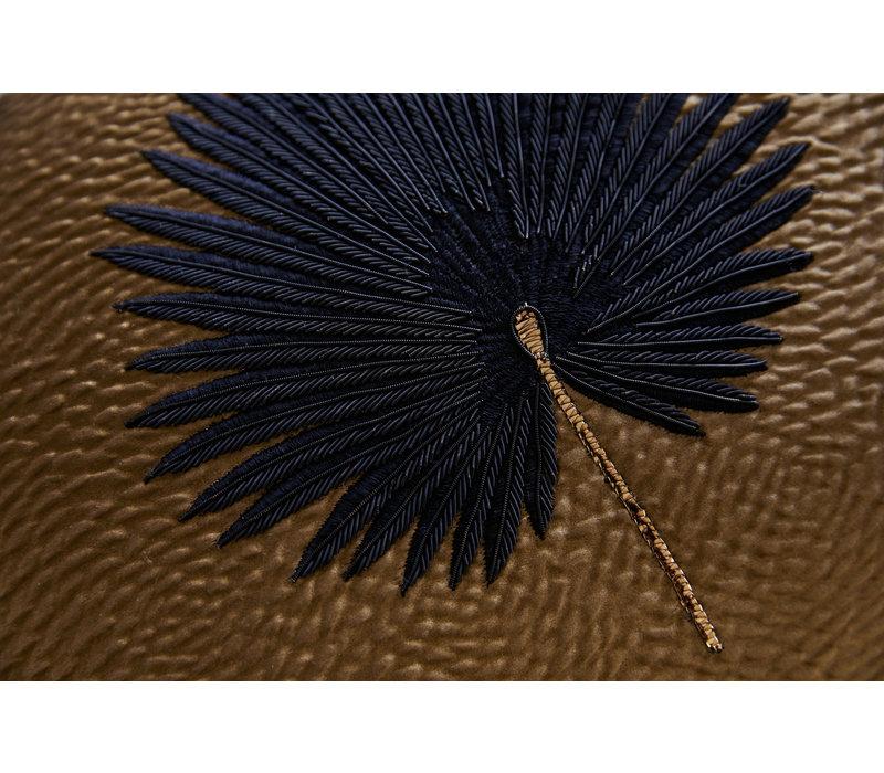 Sierkussen Kava Black Fan Palm