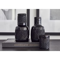 Glass water Carafe + cup 'Kaawi' Black