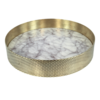 Mr. Pinchy & Co Tray 'Orbit' Marble - Small