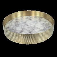 Tablett 'Orbit' Marmor - Klein
