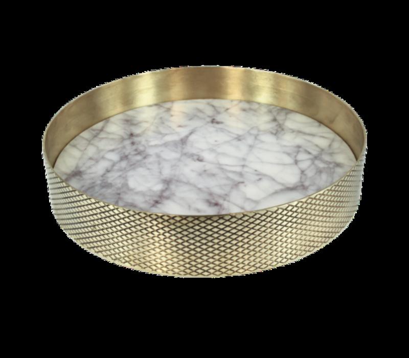 Tray 'Orbit' Marble - Small