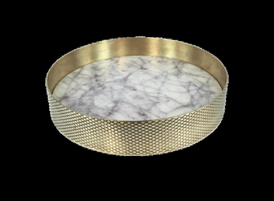 Dienblad 'Orbit' Marmer - Small