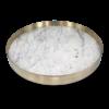 Mr. Pinchy & Co Tablett 'Orbit' Marmor - groß