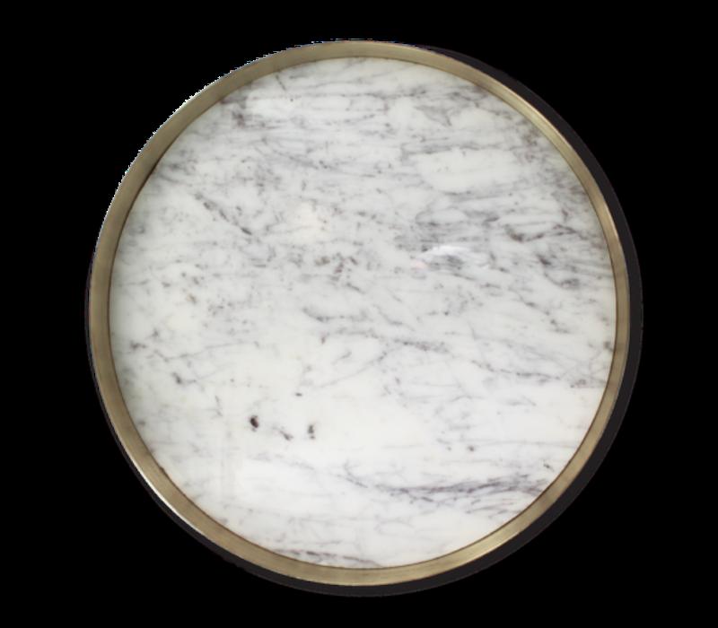 Tablett 'Orbit' Marmor - groß