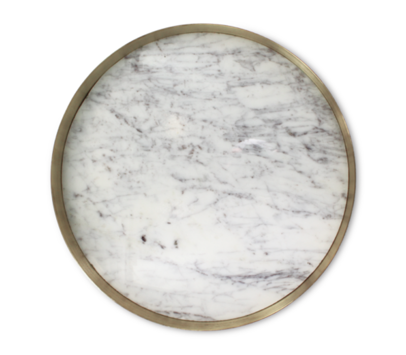 Tray 'Orbit' Marble - Large