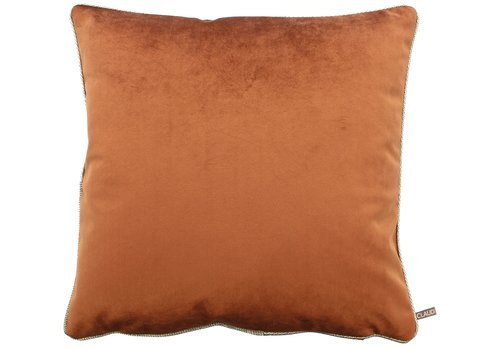 CLAUDI Cushion Astrid Copper + piping diamante gold