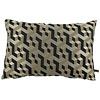 CLAUDI Throw pillow Milou Black / Gold
