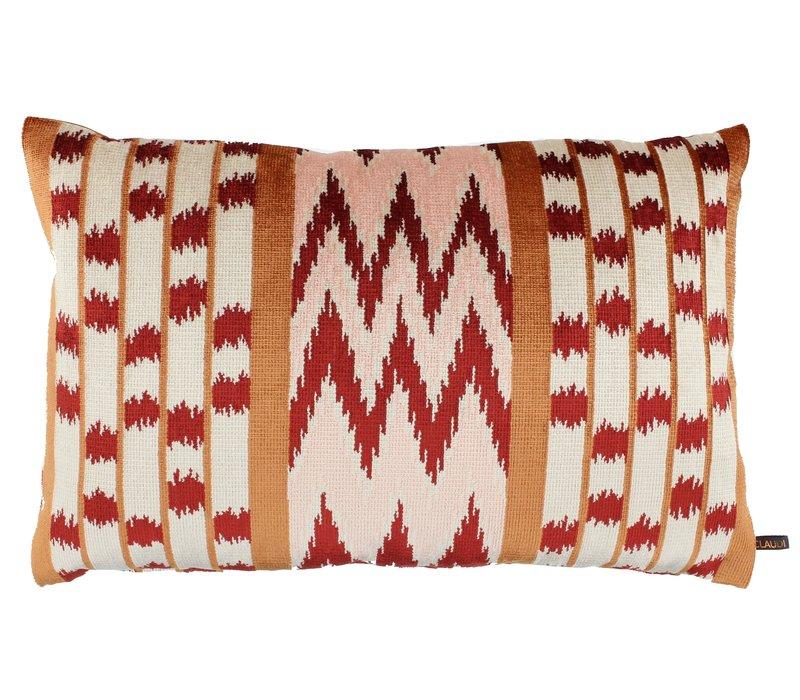 Throw pillow Evelien Copper