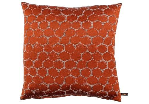 CLAUDI Cushion Christy Burned Orange