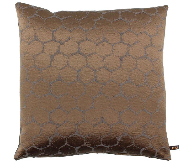 Throw pillow Christy Bronze
