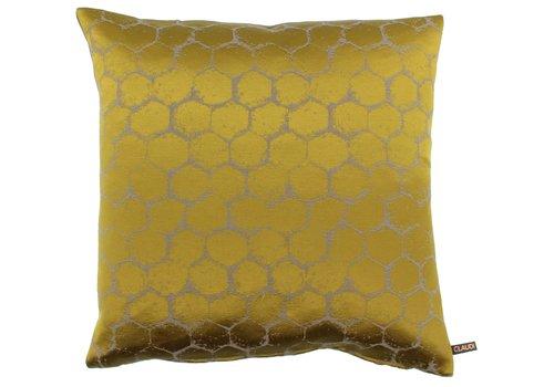 CLAUDI Cushion Christy Mustard