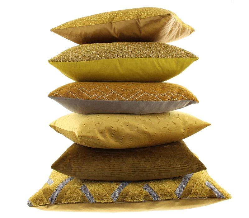 Throw pillow Christy Mustard