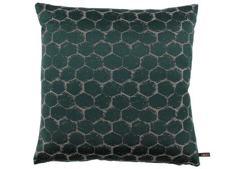 CLAUDI Cushion Christy Dark Green
