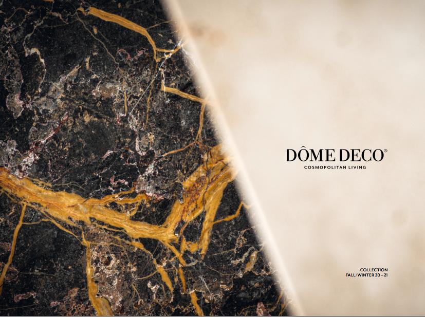 Dome Deco catalog fall/winter 20/21