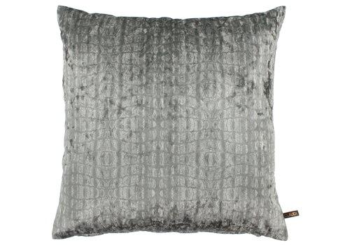 CLAUDI Cushion Cora Ice Gray / Mint