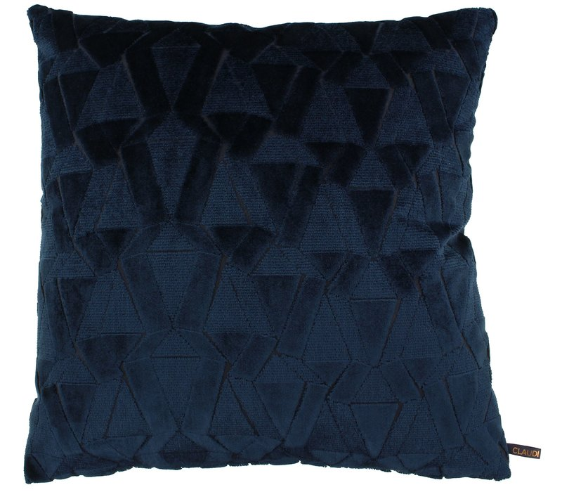 Throw pillow Zeth Indigo