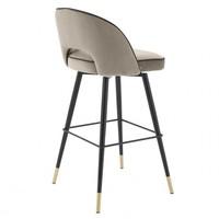 Bar stoel 'Cliff' set van 2 - Savona greige