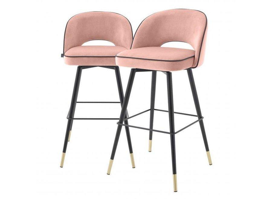 Bar stoel Cliff set van 2 - Savona nude