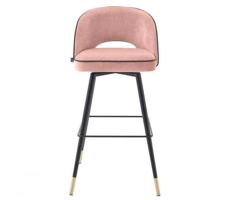Bar stool 'Cliff' set of 2 - Savona nude